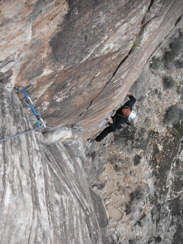 Tucker.climbing.RainbowWall
