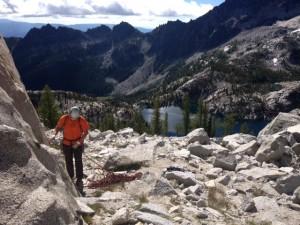 alpine lakes Enchantments