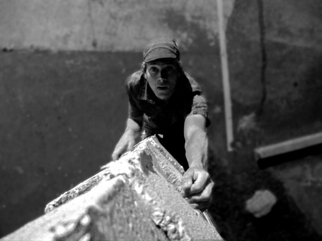 "The ""look"" of buildering."