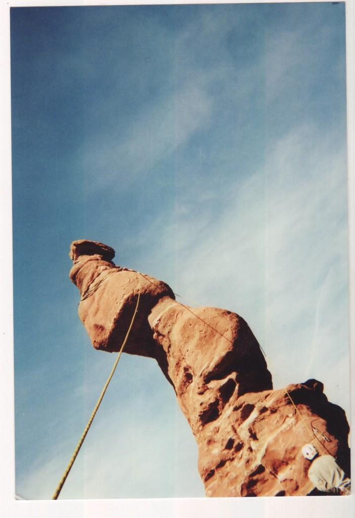 The corkscrew summit of Ancient Art.