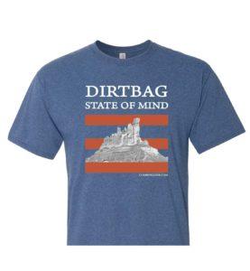 Dirtbag Climbing Zine Shirt